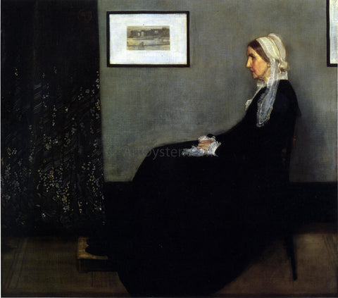 James McNeill Whistler Arrangement in Grey and Black: Portrait of the Painter's Mother - Hand Painted Oil Painting