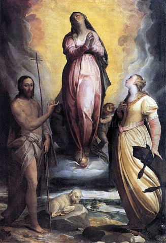 Federico Zuccaro Assumption of the Virgin - Hand Painted Oil Painting