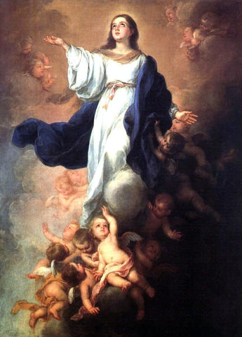 Bartolome Esteban Murillo Assumption of the Virgin - Hand Painted Oil Painting