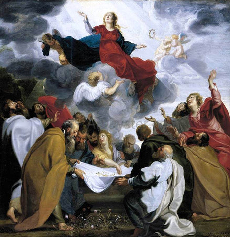 Antoine Sallaert Assumption of the Virgin - Hand Painted Oil Painting