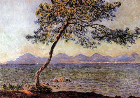 Claude Oscar Monet At Cap d'Antibes - Hand Painted Oil Painting