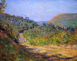 Claude Oscar Monet At Les Petit-Dalles - Hand Painted Oil Painting