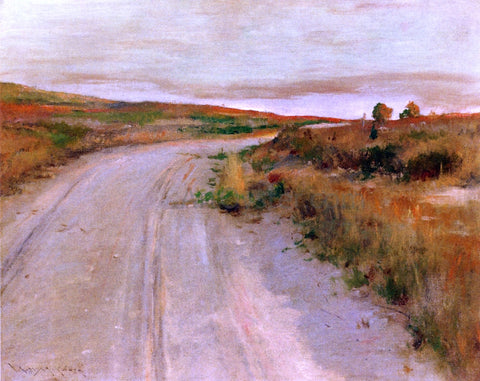 William Merritt Chase At Shinnecock Hills - Hand Painted Oil Painting
