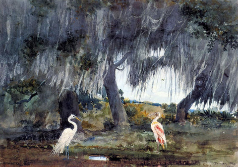 Winslow Homer At Tampa - Hand Painted Oil Painting