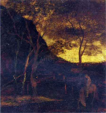 Albert Pinkham Ryder At the Ford - Hand Painted Oil Painting