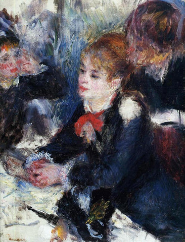 Pierre Auguste Renoir At the Milliner's - Hand Painted Oil Painting