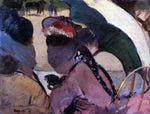 Edgar Degas At the Races - Hand Painted Oil Painting