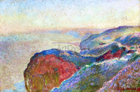 Claude Oscar Monet At Val Saint-Nicolas near Dieppe, Morning - Hand Painted Oil Painting