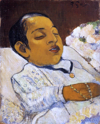 Paul Gauguin Atiti - Hand Painted Oil Painting