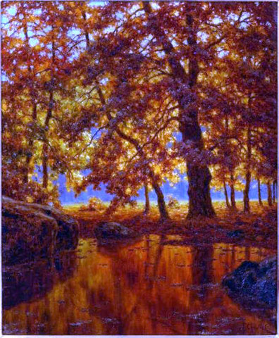Ivan Fedorovich Choultse Automne - Hand Painted Oil Painting