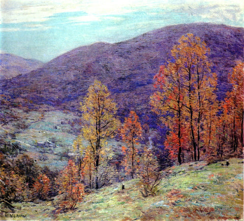 Willard Leroy Metcalf Autumn Glory - Hand Painted Oil Painting