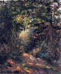 Camille Pissarro Autumn (also known as Path in the Woods) - Hand Painted Oil Painting