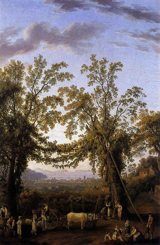 Jacob Philipp Hackert Autumn - Hand Painted Oil Painting
