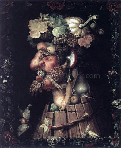 Giuseppe Arcimboldo Autumn - Hand Painted Oil Painting