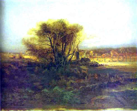 Alexei Kondratevich Savrasov Autumn - Hand Painted Oil Painting