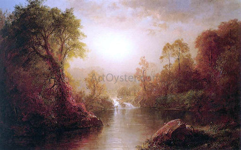 Frederic Edwin Church Autumn - Hand Painted Oil Painting