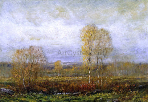 Dwight W Tryon Autumn Day - Hand Painted Oil Painting