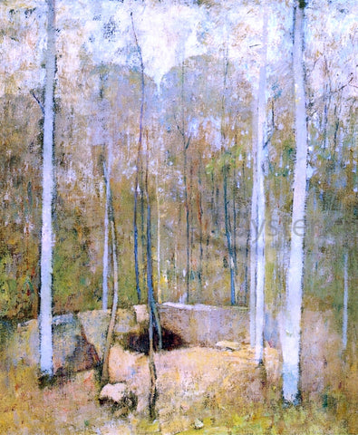 Emil Carlsen Autumn Forest - Hand Painted Oil Painting