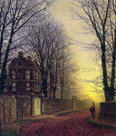 John Atkinson Grimshaw Autumn Gold - Hand Painted Oil Painting