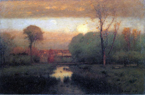 George Inness Autumn Gold - Hand Painted Oil Painting