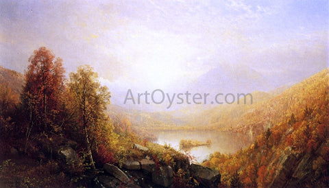 William Trost Richards Autumn in the Mountains - Hand Painted Oil Painting