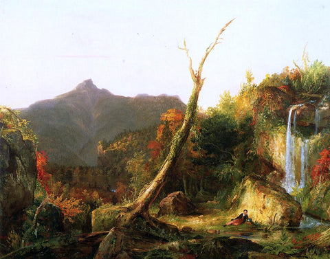 Thomas Cole Autumn Landscape (also known as Mount Chocorua) - Hand Painted Oil Painting