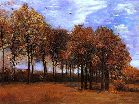 Vincent Van Gogh Autumn Landscape - Hand Painted Oil Painting