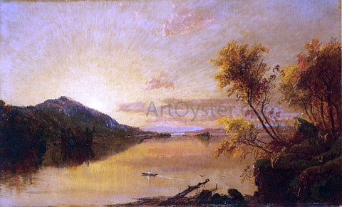 Jasper Francis Cropsey Autumn Landscape - Hand Painted Oil Painting