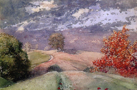 Winslow Homer Autumn, Mountainville, New York - Hand Painted Oil Painting