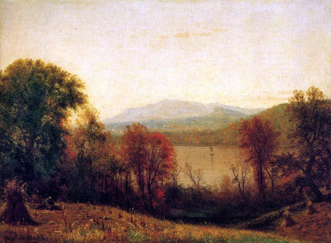 Thomas Worthington Whittredge Autumn on the Hudson - Hand Painted Oil Painting