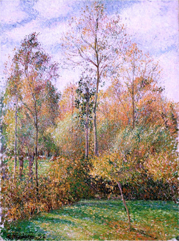 Camille Pissarro Autumn Poplars - Hand Painted Oil Painting