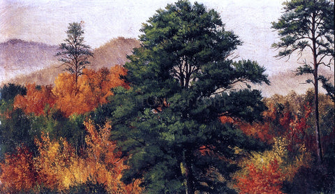 William Aiken Walker Autumn Scene in the North Carolina Mountains - Hand Painted Oil Painting