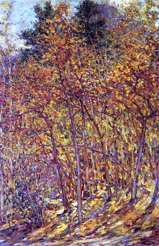 Robert Lewis Reid Autumn Sunlight - Hand Painted Oil Painting