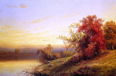William Mason Brown Autumnal Landscape - Hand Painted Oil Painting