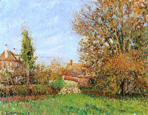 Camille Pissarro Autunm in Eragny - Hand Painted Oil Painting