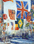 Frederick Childe Hassam Avenue of the Allies, Great Britain, 1918 - Hand Painted Oil Painting