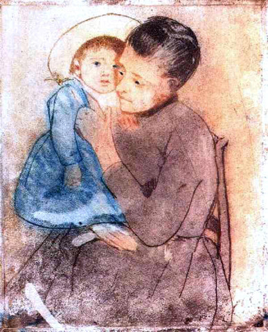 Mary Cassatt Baby Bill - Hand Painted Oil Painting