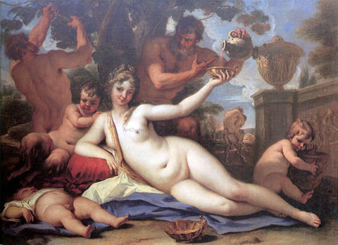 Sebastiano Ricci Bacchante - Hand Painted Oil Painting