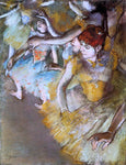 Edgar Degas Ballet Dancers on the Stage - Hand Painted Oil Painting