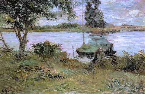 Paul Gauguin Banks of the Oise - Hand Painted Oil Painting