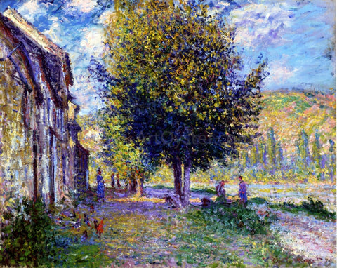 Claude Oscar Monet Banks of the Seine at Lavacourt - Hand Painted Oil Painting