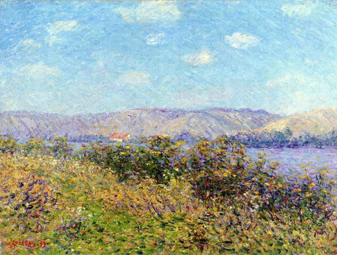 Gustave Loiseau Banks of the Seine in Summer, Tournedos-sur-Seine - Hand Painted Oil Painting