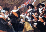 Frans Hals Banquet of the Officers of the St George Civic Guard Company - Hand Painted Oil Painting