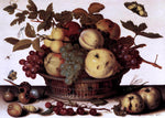 Balthasar Van der Ast Basket of Fruits - Hand Painted Oil Painting