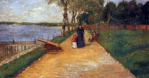 William Merritt Chase Bath Beach - a Sketch - Hand Painted Oil Painting