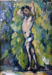 Paul Cezanne Bather - Hand Painted Oil Painting