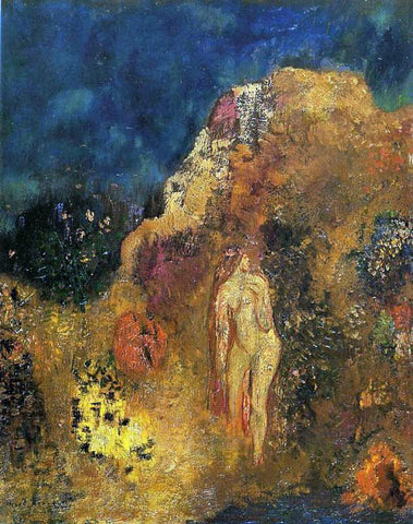 Odilon Redon Bathers - Hand Painted Oil Painting