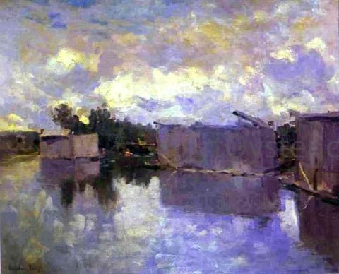 Constantin Alexeevich Korovin Bath-Houses - Hand Painted Oil Painting