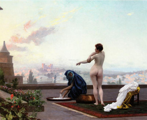 Jean-Leon Gerome Bathsheba - Hand Painted Oil Painting