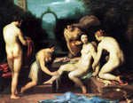 Cornelis Van Haarlem Bathsheba - Hand Painted Oil Painting